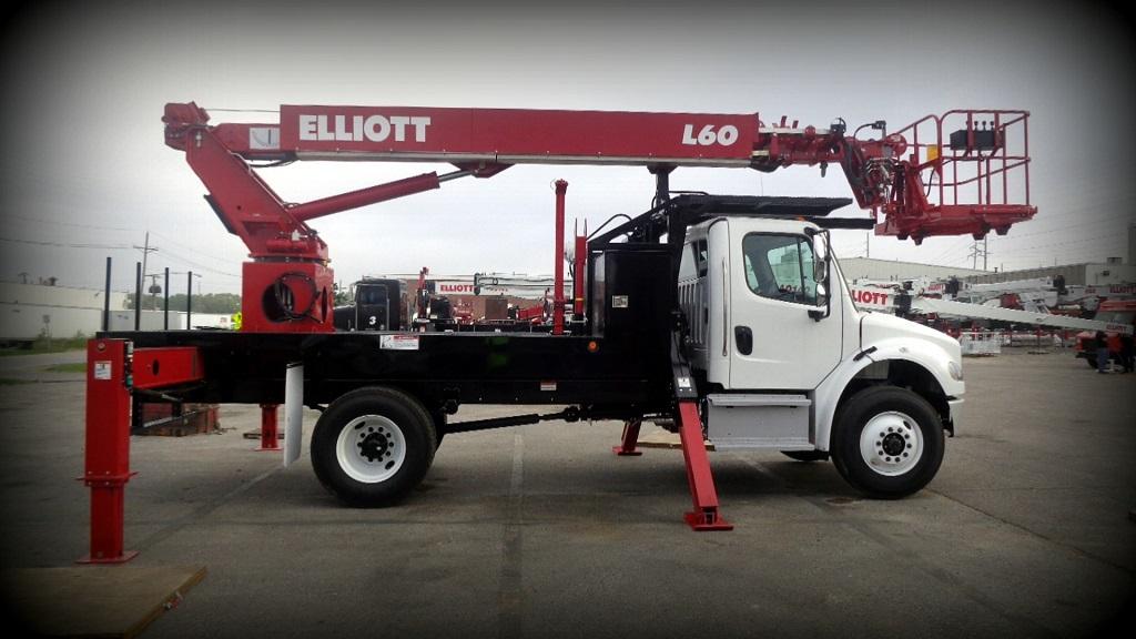 Elliott L60 Front Side view