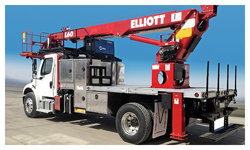 Elliott L-60 Lift Truck
