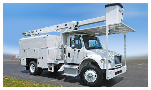 VO-260 bucket truck