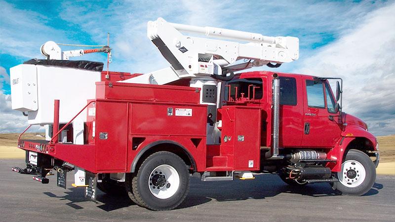 VST 5000 Bucket truck