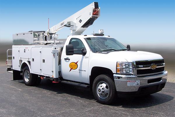 Versalift Tel-29IH Bucket Truck