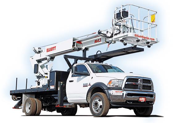 Elliott m43 work platform truck