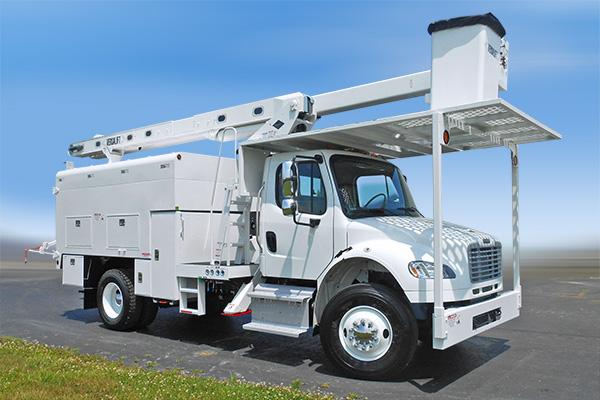 Versalift VO-260 Bucket Truck