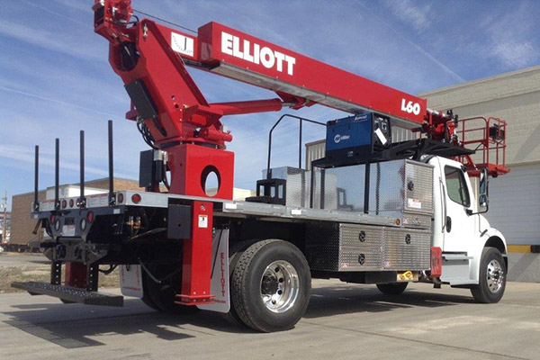 Elliot L60 Platform Lift Curbside View