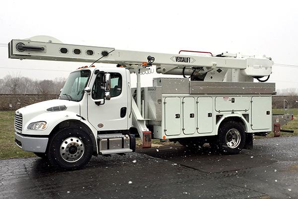 VO-355 Overcenter Bucket truck