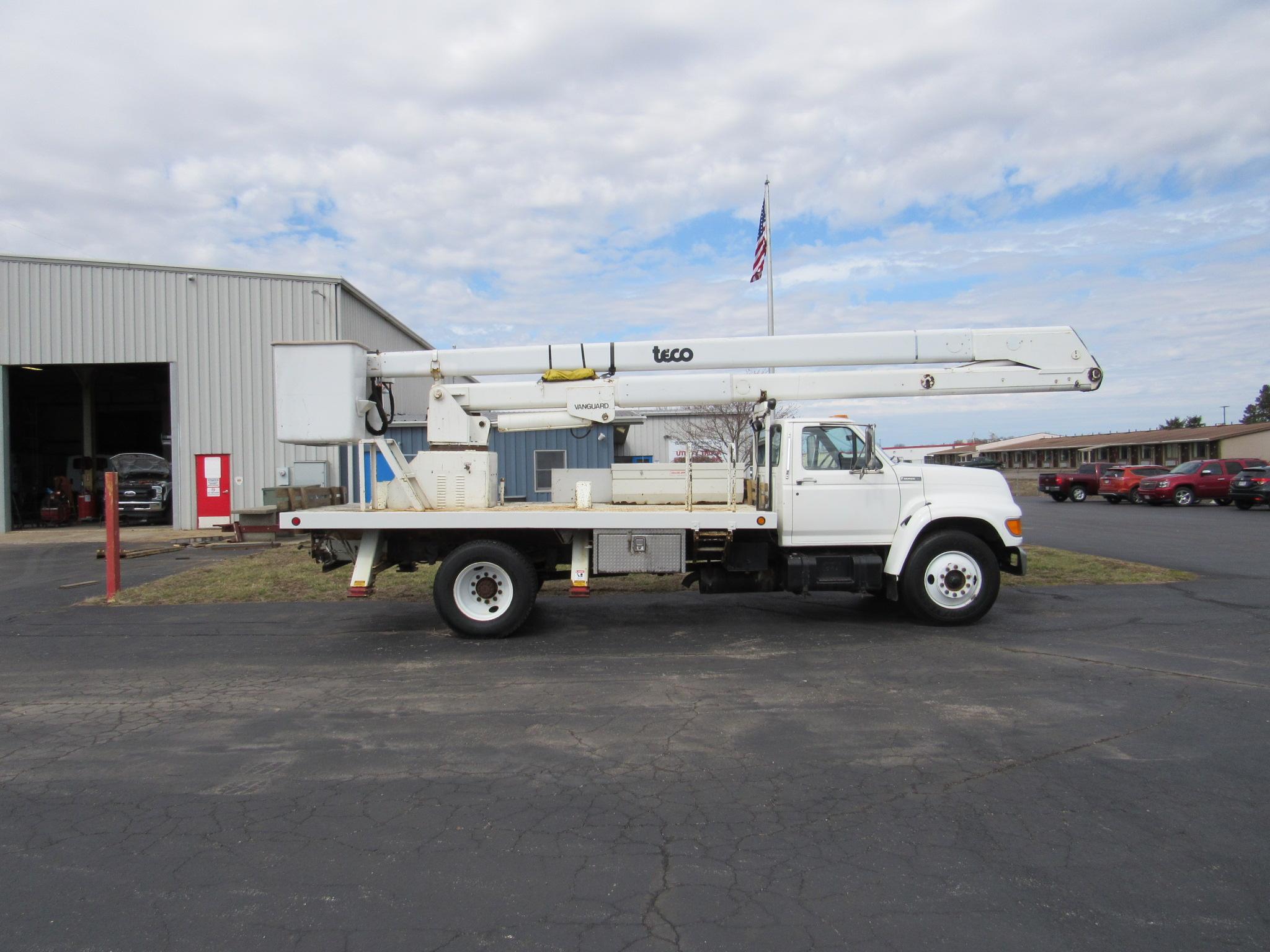 Used Bucket Trucks For Sale | Utility Truck Equipment Inc